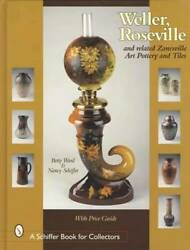 Weller Roseville Other Zanesville Art Pottery And Tiles Collector Guide Owens Etc