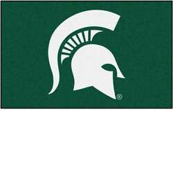 Michigan State University Spartans Ulti-mat Tailgate Rug 60 X 90 Inches