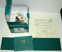 """Wdcc 1997 Original Disney Club Kit Magician Mickey Mouse On With The Show"""""""