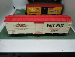Mth Fort Pitt Baltimore Reefer Special Beer Boxcar O Scale