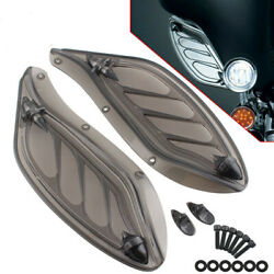 2x Fairing Side Wing Wind Air Deflectors Kit For Harley Electra Street Tri Glide