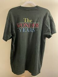 Rare Vintage The Wonder Years Cast And Crew T-shirt Frim Casting Director Xl