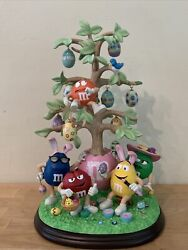 Rare The Mandm's Easter Tree With Ornaments - Danbury Mint Collectible Figure