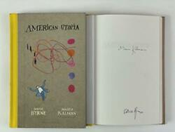 David Byrne Signed Autograph American Utopia Book - Talking Heads, Very Rare