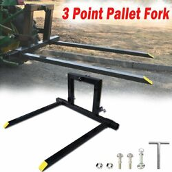 3 Point Tractor Pallet Forks Hitch Forks Category 1 Tractor Bucket Attachments