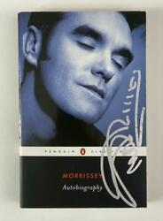 Morrissey Signed Autograph Book - The Smiths Frontman The Queen Is Dead Rare