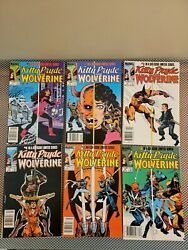 Kitty Pryde And Wolverine 1-6 , Full Run 1984-85, Marvel Comics