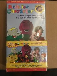 Tom Selleck Kids for Character VHS sealed with cassette tape. $15.00