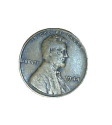 1944 Lincoln Penny One Cent Coin No Mint Mark Circulated
