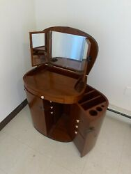 Starbay Vanity Wood Finished Imported From France Good Conditionandnbsp
