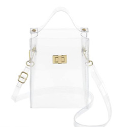 MINICAT Clear Small Crossbody Bags Stadium Approved Cell Phone Purse Wallet For $27.99
