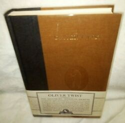 Oliver Twist Charles Dickens Hardcover Book Nonesuch Facsimile Edition 2005