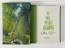 Dave Matthews Signed Autograph If We Were Giants Le Book - Hand 'd 277/1000