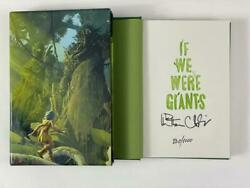 Dave Matthews Signed Autograph If We Were Giants Le Book - Hand 'd 730/1000