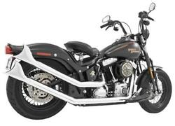 Freedom Performance Upsweeps Dual Full Exhaust System With Shark Tails Chrome