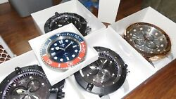 New Magnificent 19 Wall Clocks Lot Of 5 Never Used In Boxes