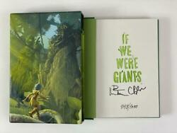 Dave Matthews Signed Autograph If We Were Giants Le Book - Hand 'd 998/1000