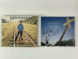 John Fogerty Autograph Lookin Out My Back Door Book Creedence Clearwater Revival