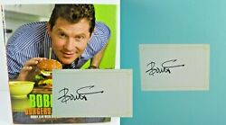 Bobby Flay's Burgers Fries And Shakes Bobby Flay ✎ Signed ✎ 1st Ed Cookbook Nice