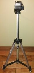 Ambico Model V-0552 Video Camera Tripod Pre-owned Excellent Condition