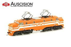Auscision L-7 L1150 Vr Tea-cup Tangerine/silver With R.g. Wishart - Ho Scale