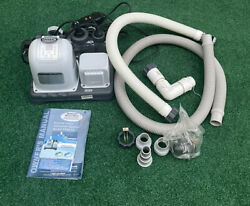 Intex Krystal Clear Saltwater System Cs-8110 Tested Good Working Condition