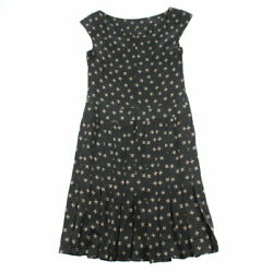 Total Pattern Sleeveless Dress Black P3142 Previously Owned No.6
