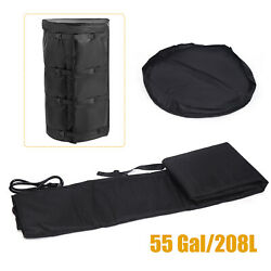 55g Drum Heating Blanket Propane Tank Blanket-thickened Thermal Insulation Layer