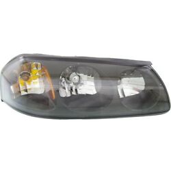 Headlight Lamp For Chevy 10349962 Right Hand Side Chevrolet Impala 2000-2004