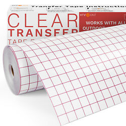 Sign Craft Vinyl Paper Application Transfer Tape 12 In X 80 Ft Roll For Cricut