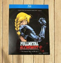 Fullmetal Alchemist The Complete Series New Blu-ray Free Shipping