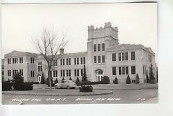 Cook Real Photo Postcard Willson Hall Nmmi Roswell Nm
