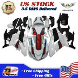 Ms Injection Mold Abs White Fairing Fit For Kawasaki Ninja Zx14r 2006-2011 Z034