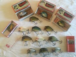 Lot Of Vintage Punkins Seed Fishing Lures Lot Sold As Is Please Look At Pics