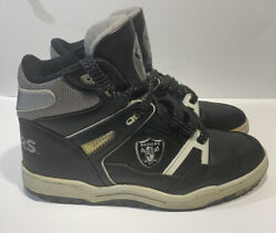 Vintage Oakland/los Angeles Raiders Eastport By Starter Shoes-size 12-nice👀🔎🔥