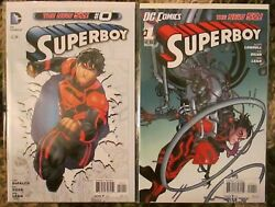 Superboy 0, 1-29, 31, Annual 1 Teen Titans, Ravagers, Rose Wilson, New 52