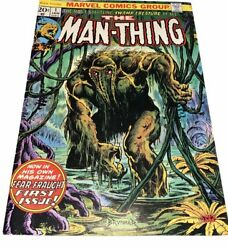 Man-thing 1 Marvel Comics 1974 2nd App Howard The Duck
