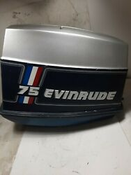 Used Evinrude Johnson Omc 60-75hp Engine Cover Top Cowl Hood.