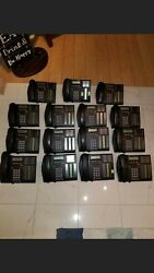 Avaya Nortel Bcm 50 With 15 Phones T7316 G8x16 Manager R 6.0