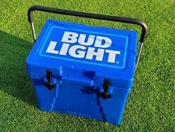 Bud Light Racing Promo Grizzly Cooler Light Blue