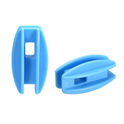 20pcs High Strain Corner Post Insulator For Electric Fence Wire Blue