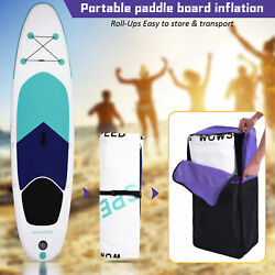 11and039 Inflatable Stand Up Paddle Board Sup Surfboard With Complete Kit 6and039and039 Thick