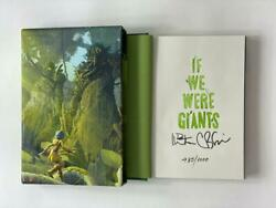 Dave Matthews Signed Autograph If We Were Giants Le Book - Hand 'd 485/1000