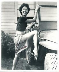 Dorothy Dandridge- Signed Vintage Photograph Famous African-am Actress