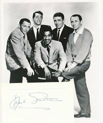 Frank Sinatra- Signed Card From 1962 W/photo Rat Pack