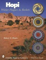 Hopi Wicker Plaques And Baskets Guide - Native American Indian Third Mesa Villages