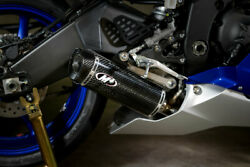 Carbon Fiber And Stainless Full Exhaust M4 Ya6974 For 06-20 Yamaha R6