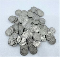 90 Silver Coins Walking Liberty Half Dollars Approximately 985 Dwt