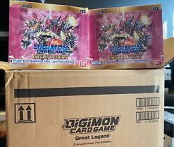 Digimon Great Legend Booster Box - In Stock - Ready To Ship