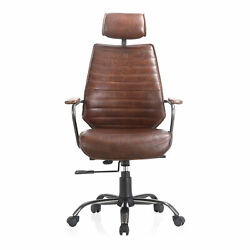 Moeand039s Home Industrial Executive Office Chair With Brown Pk-1081-20